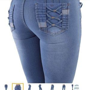 Denim - Nwt Design Buttlifting skinny jean size 3